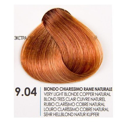 БОЯ ЗА КОСА FANOLA NATURAL COPPER 9.04
