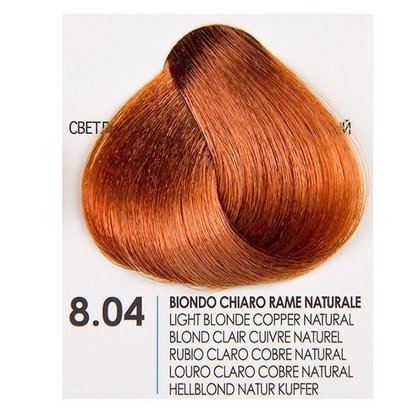 БОЯ ЗА КОСА FANOLA NATURAL COPPER 8.04