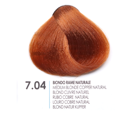 БОЯ ЗА КОСА FANOLA NATURAL COPPER 7.04