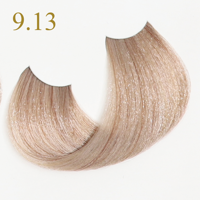 9.13 VERY LIGHT BLONDE BEIGE БОЯ ЗА КОСА ORO THERAPY 100 МЛ