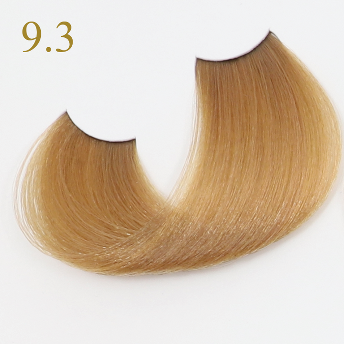 9.3 VERY LIGHT BLONDE GOLDEN БОЯ ЗА КОСА ORO THERAPY 100 МЛ
