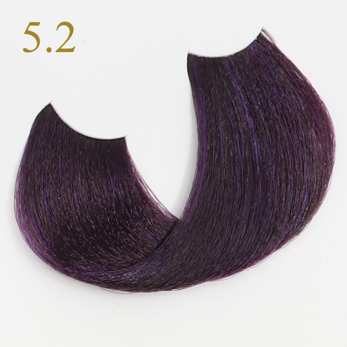 5.2 LIGHT CHESTNUT VIOLET БОЯ ЗА КОСА ORO THERAPY 100 МЛ